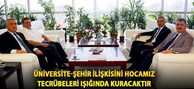 """AK Parti Samsun Milletvekili Köktaş; """"Üniversite-Şehir İlişkisini Hocamız Tecrübeleri Işığında Kuracaktır"""""""