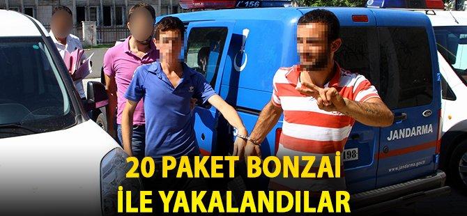 Samsun'da İhbarı Değerlendiren Polis, 20 Paket Bonzai Ele Geçirdi