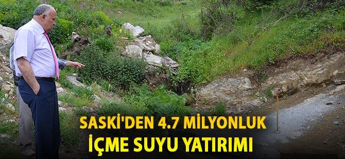 Samsun'un Kavak İlçesine 4.7 Milyonluk İçme Suyu Yatırımı