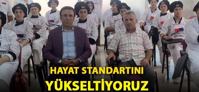 Samsun'un Canik İlçe Belediye Başkanı Genç; 'Hayat Standartını Yükseltiyoruz'