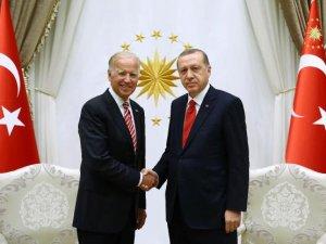 Erdoğan İle Joe Biden Görüşüyor