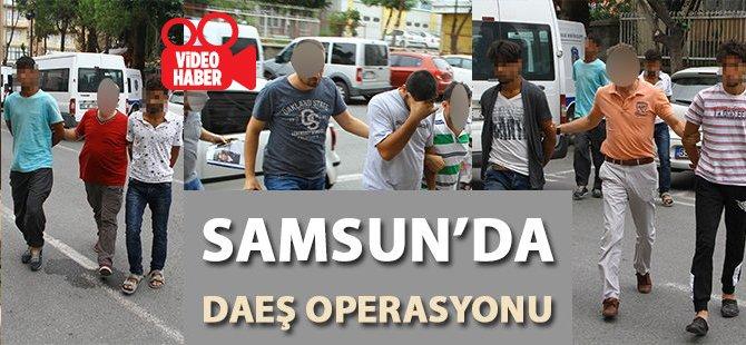 Samsun'da DAEŞ Operasyonu: 17 Gözaltı
