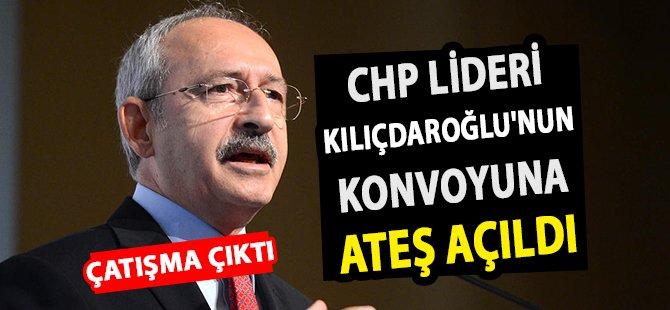 CHP Lideri Kılıçdaroğlu'nun Konvoyuna Ateş Açıldı Çatışma Çıktı