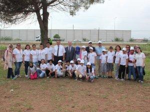Samsun'da Korunmaya Muhtaç Çocuklar Doğa ve Tarımla Buluştu