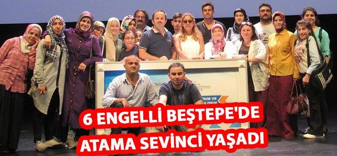 Samsun'da 6 Engelli Beştepe'de Atama Sevinci Yaşadı