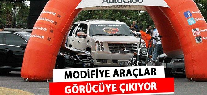 Samsun'da Modifiye Araçlar Görücüye Çıkıyor