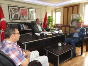 Başkan Genç'ten CHP'ye Geçmiş Olsun Ziyareti