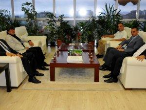 AK Parti Atakum İlçe Başkanı'ndan Tebrik Ziyareti