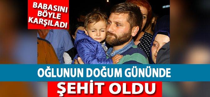Oğlunun Doğum Gününde Şehit Olan Polisin Cenazesi Samsun'da