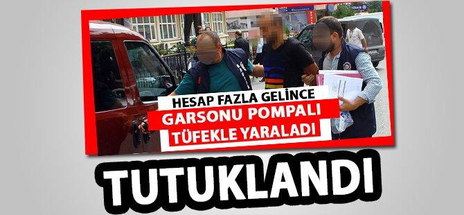 Samsun'da Hesap Fazla Gelince Garsonu Pompalı Tüfekle Yaralayan Zanlı Tutuklandı