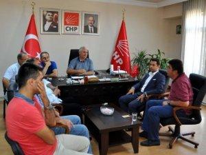 Tokat'ta MHP'den CHP'ye Geçmiş Olsun Ziyareti