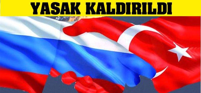 Rusya'dan Türkiye'ye Charter Uçuşlarına Yasak Kaldırıldı