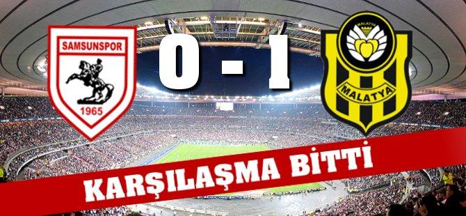 Yeni Malatyaspor Samsunspor Karşılaşması Bitti