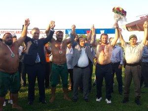 Samsun 19 Mayıs Güreşlerinde Başpehlivanlığı Fatih Atlı Kazandı