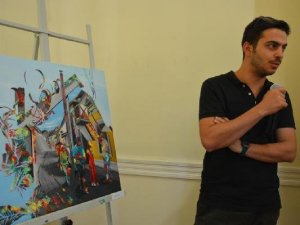 Tekirdağ 'da 3. Plastik Sanatlar Çalıştayı Sergi Açılışıyla Sona Erdi