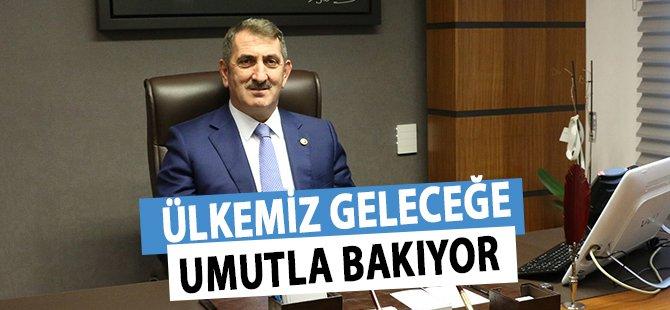 """AK Parti Samsun Milletvekili Köktaş; """"Ülkemiz Geleceğe Umutla Bakıyor"""""""