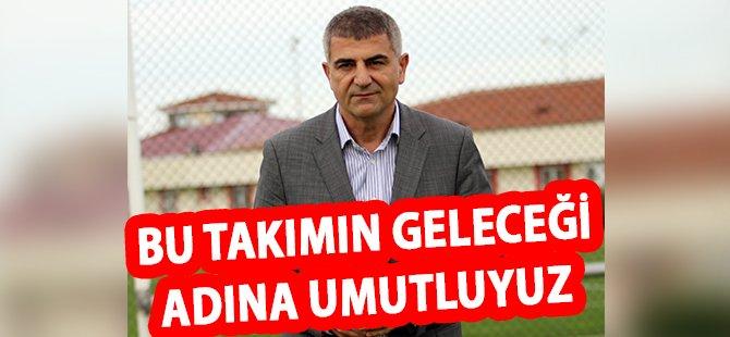 """Samsunspor'un Sportif Direktörü Zeren; """"Bu Takımın Geleceği Adına Umutluyuz"""""""