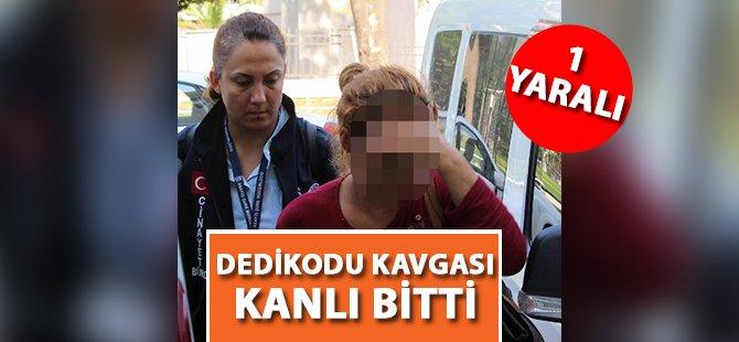 Samsun'da Kadınların Dedikodu Kavgası Kanlı Bitti 1 Yaralı