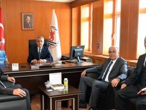 Samsun OMÜ Fen-Edebiyat Fakültesi'nde Dekanlık Devir Teslim Töreni