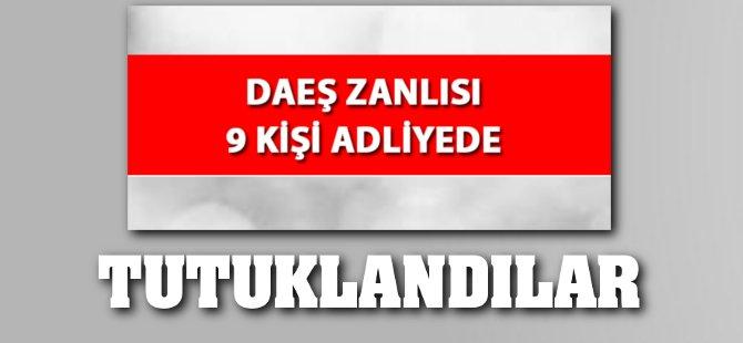 Samsun'da DAEŞ Operasyonunda 9 Tutuklama
