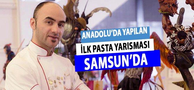 Anadolu'da Yapılan İlk Pasta Yarısması Samsun'da