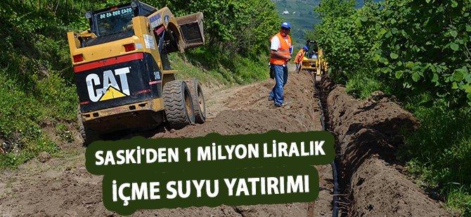 Samsun Büyükşehir'den Canik'e 1 Milyon Liralık İçme Suyu Yatırımı