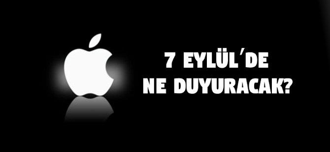 Apple 7 Eylül'de Ne Duyuracak?