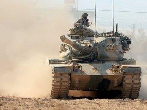 Fırat Kalkanı'nda Işid'e Havadan, Karadan Bombardıman