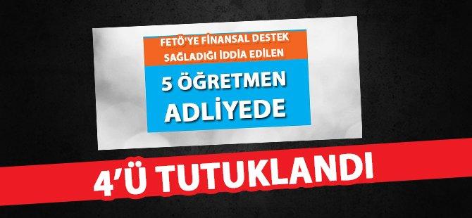 Samsun'da FETÖ'ye Finansal Destek Sağladığı İddia Edilen 4 Kişi Tutuklandı