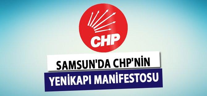 Samsun'da CHP'nin Yenikapı Manifestosu