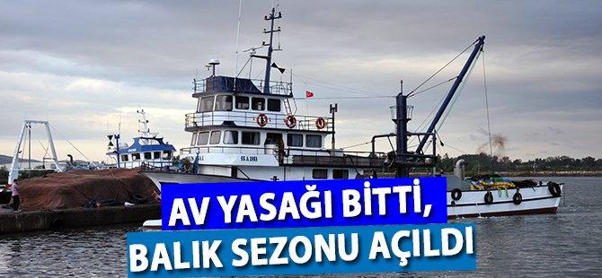 Samsun'da Av Yasağı Bitti, Balık Sezonu Açıldı