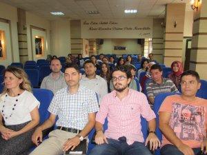 Samsun'da Aday Öğretmenlere Seminer