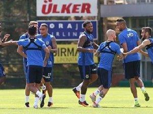 Fenerbahçe'de 'Sow'lu Antrenman