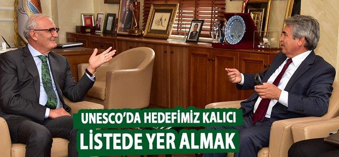"""Samsun Büyükşehir Belediye Başkanı Yılmaz;  """"Unesco'da Hedefimiz Kalıcı Listede Yer Almak"""""""