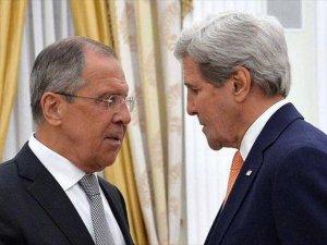 Lavrov ve Kerry Suriye'yi Görüştü
