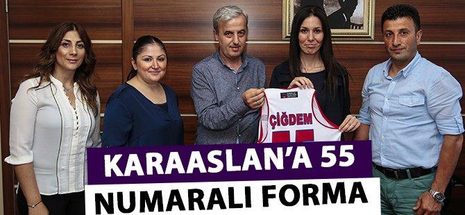 Samsun Canik Belediyespor'dan Karaaslan'a 55 Numaralı Forma
