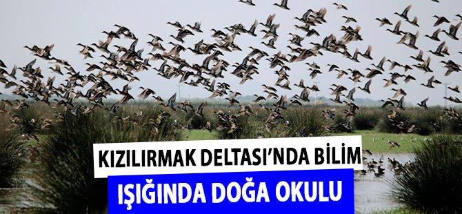 """Smasun """"Kızılırmak Deltası'nda Bilim Işığında Doğa Okulu"""" Açıldı"""