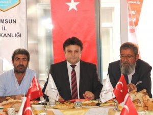 """Diriliş Başkanları Samsun İl Başkanı Öztürk; """"Türk'ün Gücüne Güç Katmak İstiyoruz"""""""