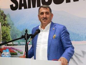 AK Parti Samsun Milletvekili Köktaş, TÜYAP Samsun Fuar ve Kongre Merkezi'nde