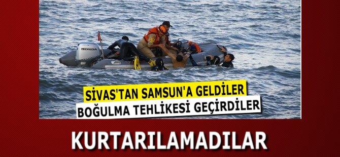 Samsun'da Denize Giren 3 Kişi Boğuldu