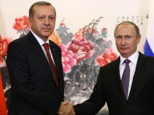 Erdoğan ile Putin'den İlk Mesajlar