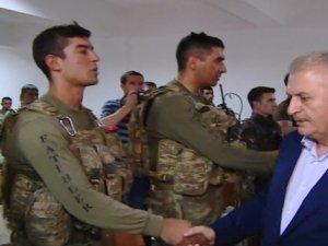 Başbakan Yıldrırım'dan, Çukurca'da Operasyon Bölgesine Ziyaret