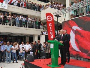 CHP Genel Başkanı Kılıçdaroğlu, Çankaya Belediyesi'nde Toplu İş Sözleşmesi Törenine Katıldı