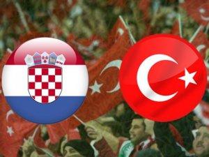 Hırvatistan Türkiye Maçının İlk 11'i Belli Oldu