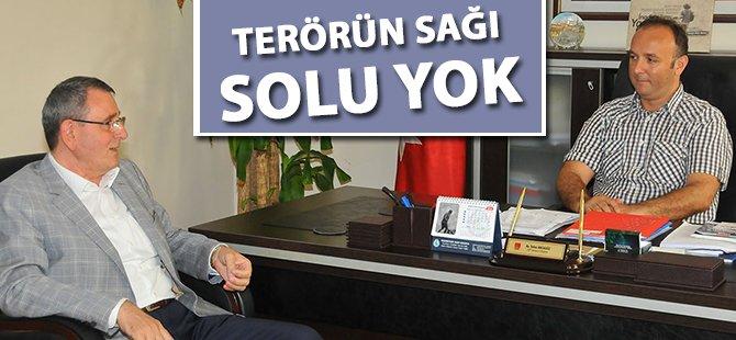 """Samsun TSO Başkanı Murzioğlu; """"Terörün Sağı Solu Yok"""""""