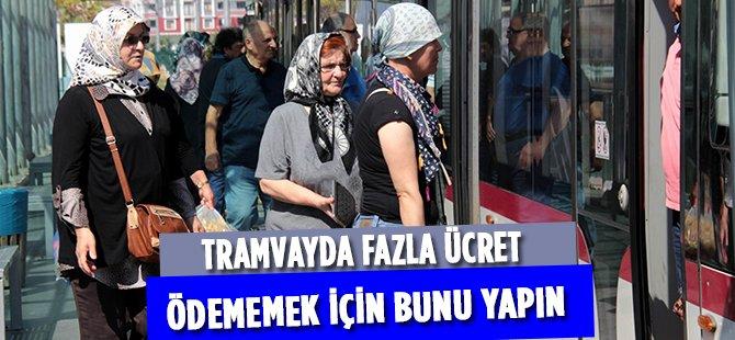 """SAMULAŞ A.Ş. Mali İşler Müdürü  Alok; """"Tramvayda Yeni Ücret Düzenlemesi 15 Eylül'de Başlıyor"""""""
