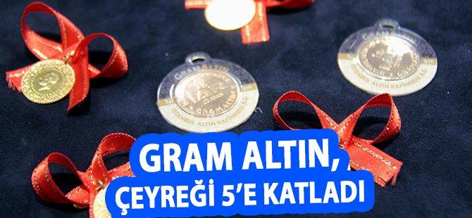 """Samsun Kuyumcular Odası Başkanı Özman; """"Gram Altın, Çeyreği 5'e Katladı"""""""
