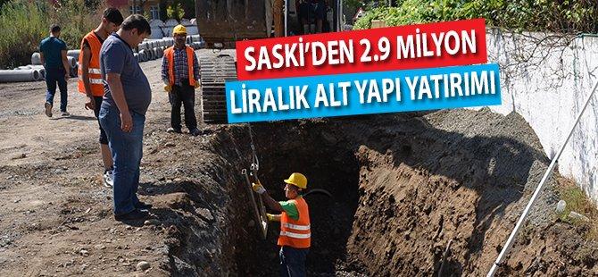 Samsun'un Tekkeköy İlçesine 2.9 Milyon Liralık Alt Yapı Yatırımı
