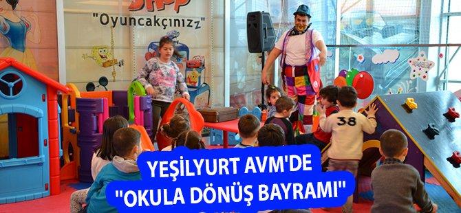 Samsun Yeşilyurt AVM'de ''Okula Dönüş Bayramı''