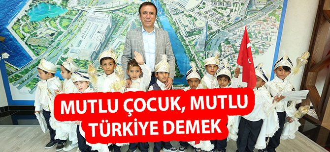 """Samsun'un Canik İlçe Belediye Başkanı Genç; """"Mutlu Çocuk, Mutlu Türkiye Demek"""""""